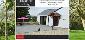 Tregarthen Self Catering Holiday Cottage
