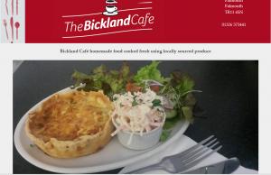 Bickland Cafe Falmouth