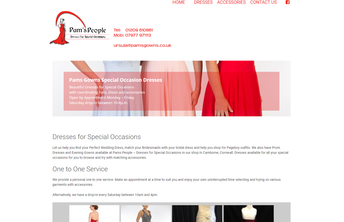 Pams Gowns dresses for special occasions